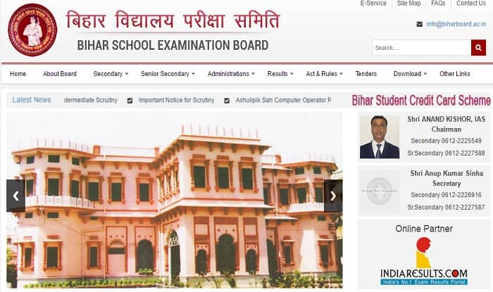 biharboard.ac.in Bihar Board BSEB Class 10 2017 Results declared today, Official confirmation on results, Download here
