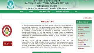 NEET 2017 Counselling for All India Quota: First Round to end on July 12, steps on how to register and apply on mcc.nic.in