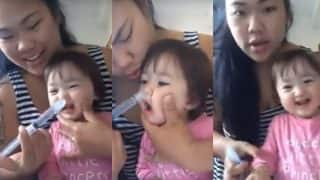 Thai Mom clears little daughter's cold using Indian Neti Kriya technique (Watch video)