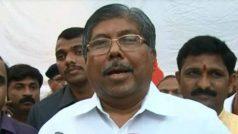 महाराष्ट्र के मंत्री को कन्नड़ सॉन्ग गाना पड़ा भारी, विरोध में लगे नारे