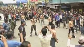 Darjeeling unrest: GJM supporters undertake 'Tubelight' rally, burn 2011 GTA accord