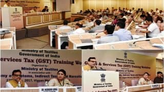 Ministry of Textiles organizes a full-day training workshop on GST