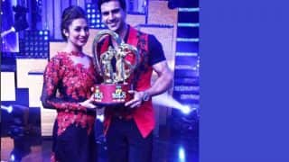 Nach Baliye 8 winners Vivek Dahiya and Divyanka Tripathi thank and celebrate with their fans - watch videos