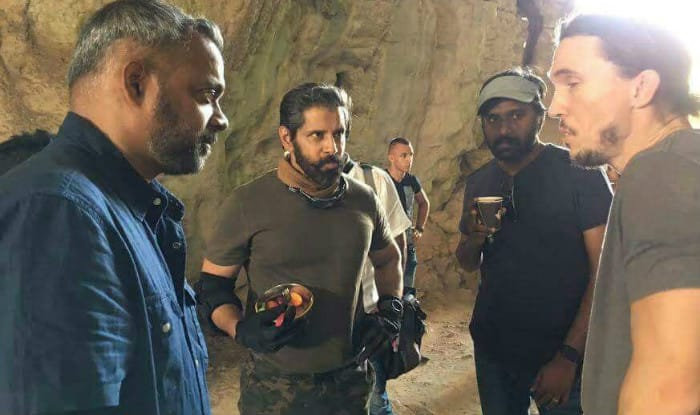 SEE PIC: Vikram shoots for Dhruva Natchathiram in Europe