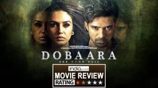Dobaara See Your Evil movie review: Saqib Saleem–Huma Qureshi's film plays with your mind but doesn't scare you!