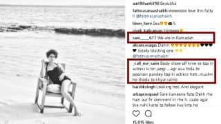 Fatima Sana Shaikh gets trolled for posting monokini pictures during Ramadan