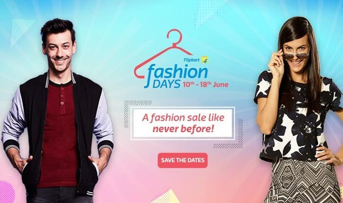 Flipkart Fashion Days Sale: Top 5 offers and big discounts