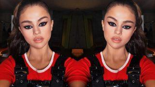 Selena Gomez's cat-eye makeup in flat 15 minutes is giving us makeup goals!