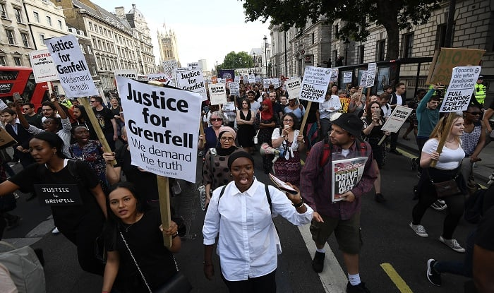 London fire: Anger as Grenfell death toll rises to 58
