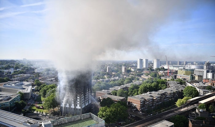 Grenfell Tower - the London tower block that went up in flames