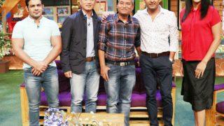 The Kapil Sharma Show: Olympians Baichung Bhutia, Sushil Kumar show their fun side - view pics
