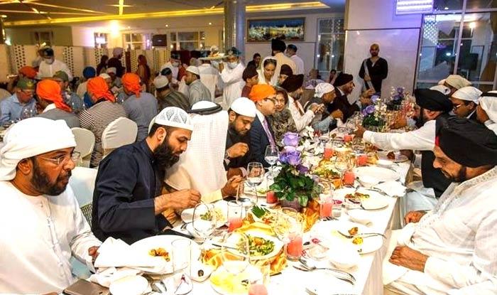 Iftar in Gurudwara