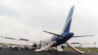 Indigo flight passengers evacuated at Patna airport after smoke observed in cabin: Watch Video