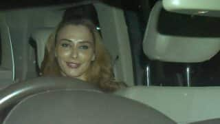 Inside Pictures: Look with whom Iulia Vantur left after attending a party at Sohail Khan's house