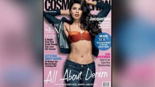 Hotness Alert! Jacqueline flaunts her toned abs in this new hot magazine cover