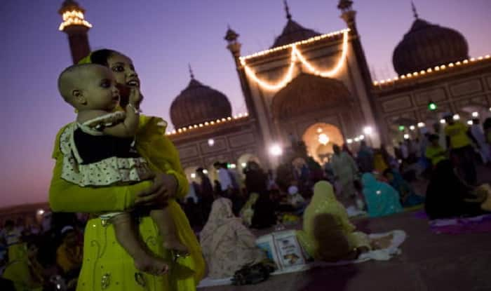 Muslims flock to Moscow's cathedral mosque for Eid prayer