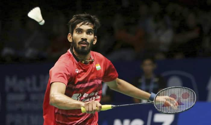 File picture of Kidambi Srikanth.