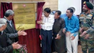 Train to Leh, Ladakh: Suresh Prabhu lays foundation stone for Bilaspur-Mandi-Leh Rail Line to be built at a cost of Rs 157 cr