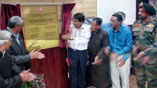 Train to Leh, Ladakh: Suresh Prabhu lays foundation stone for Bilaspur-Mandi-Leh Rail Line to be built at a cost of Rs 157 cr