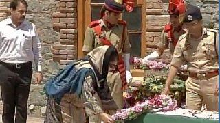 Srinagar cop lynched: CM Mehbooba Mufti calls killing of DSP Mohammed Ayub Pandith shameful, warns mobs