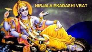 Nirjala Ekadashi 2020: Know The Significance, Importance, Vrat Tithi And Muharat For Holy Day