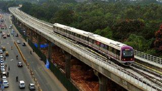 President Pranab Mukherjee inaugurates underground section of Bengaluru's Namma Metro
