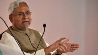 Congress Alone to Blame For Opposition Mess, Idea of Sangh-Mukt Bharat Cannot Thrive, says Nitish Kumar