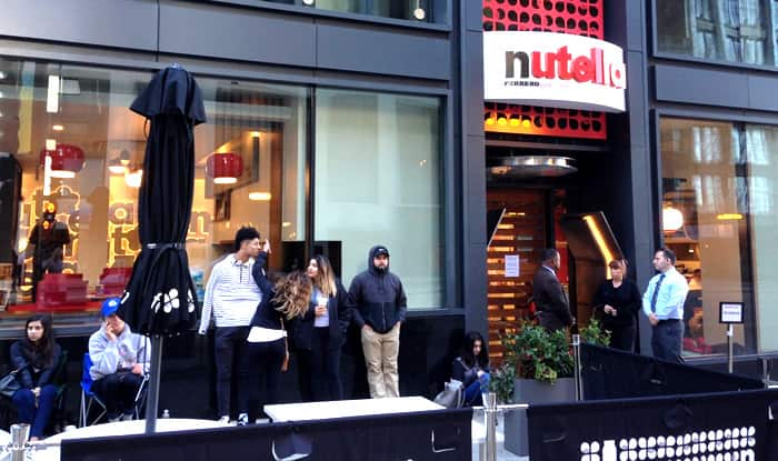 World's first Nutella cafe opens in Chicago