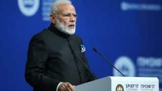 India progressing rapidly, remains ideal FDI destination: PM Narendra Modi in Russia