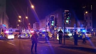London: Van hits pedestrians outside Finsbury Park Mosque, one dead; PM Theresa May calls it 'potential terror attack'