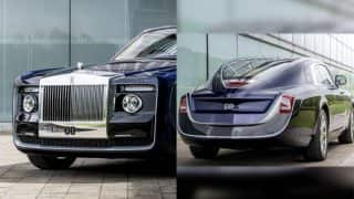 Rolls Royce Sweptail world's most expensive car approximately costs around Rs 84 crore (See Pictures)