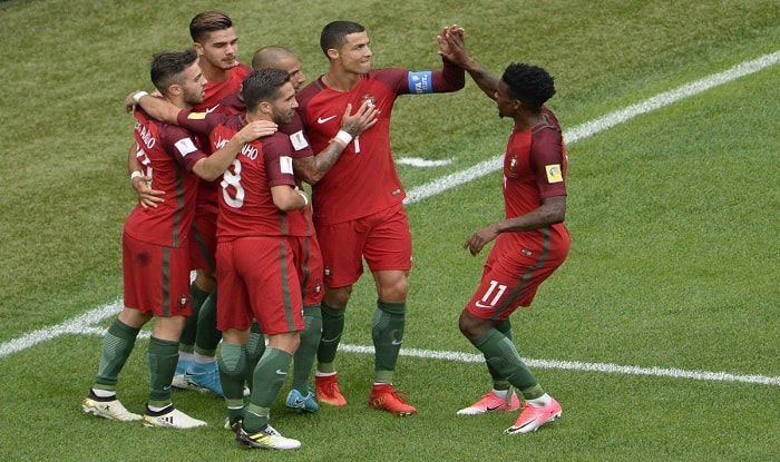 Portugal land in Confederations Cup semi-finals