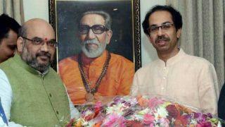 Presidential Election 2017: Amit Shah meets Uddhav Thackeray, Devendra Fadnavis accompanies