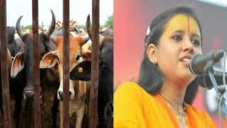 Beef-eaters must be hanged publicly, Hinduism under threat, says Sadhvi Saraswati in Goa