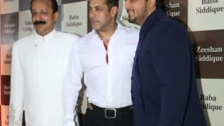 Salman Khan and rumoured girlfriend Iulia Vantur arrive at Baba Siddiqui's Iftar bash - view pics