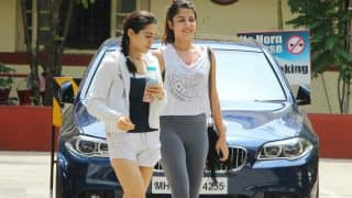 After workout session, besties Sara Ali Khan and Rhea Chakraborty head to a cafe – view pictures