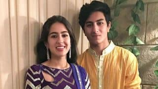 Before Sara Ali Khan, it might just be Ibrahim Ali Khan, who will face the camera first