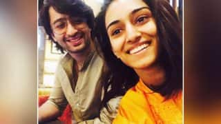 Kuch Rang Pyaar Ke Aise Bhi actors Shaheer Sheikh and Erica Fernandes spotted on a movie date - view pic!