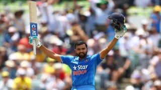 Rohit Sharma Holidays as Team India Sweat it Out in West Indies