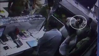 Uttar Pradesh police beat Agra Hotel staff, CCTV video goes viral (Watch)