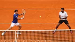 French Open 2017: Rohan Bopanna-Pablo Cuevas crash out