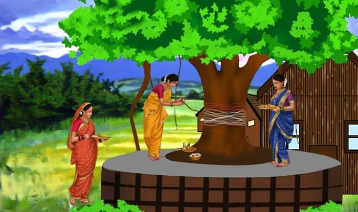 वटपोर्णिमा is a highly logical and ecological festival celebrated across India