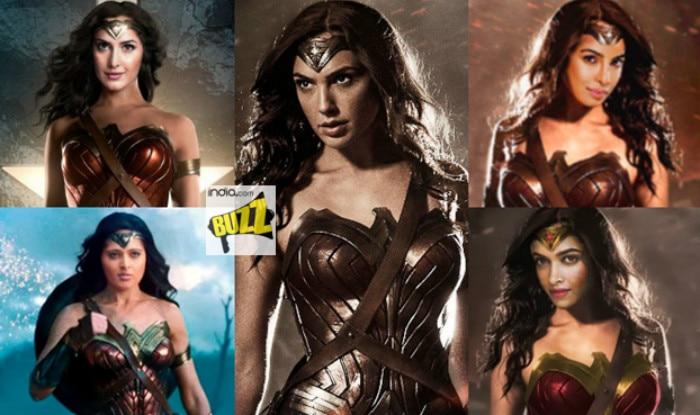 If Wonder Woman Was Indian Katrina Kaif Anushka Shetty Priyanka
