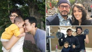 Aamir Khan shares rare Pics with his father, daughter & son! Wishes Father's Day with cute family collage