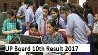 UP Board 10th Results 2017 Declared: Check results now at upresults.nic.in, upmsp.edu.in and results.gov.in