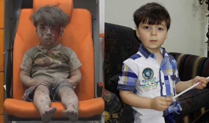 Aleppo boy Omran Daqneesh makes his first appearance since 2016 bombing! See heart warming pictures of the Syrian kid