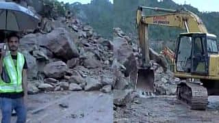 मौसम साफ होने के बाद अमरनाथ यात्रा फिर शुरू, सड़क पर गिरी चट्टानें हटाई गईं