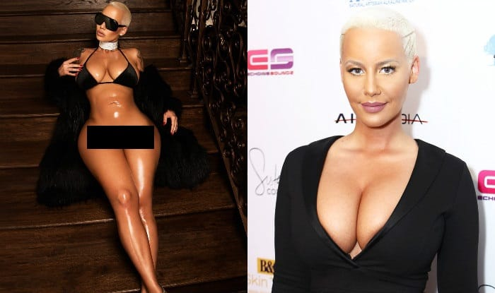Amber Rose Poses Bottomless on Instagram — NSFW