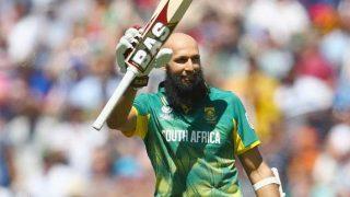 चैंपियंस ट्रॉफीः अमला के शतक की बदौलत दक्षिण अफ्रीका ने दिया श्रीलंका 300 रन का लक्ष्य