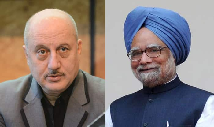 Anupam Kher to play Manmohan Singh in 'The Accidental Prime Minister' movie